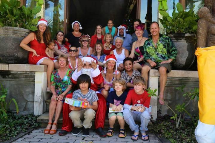 Christmas Day in Bali facilitating a global entrepreneurs accelerator programme
