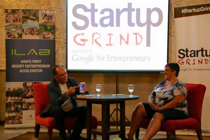 Hosting start up Grind Bali Chapter with Paul Dunn